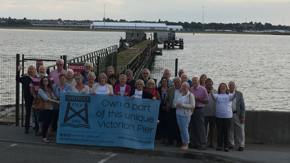 Shotley Pier: New plans for historic structure revealed