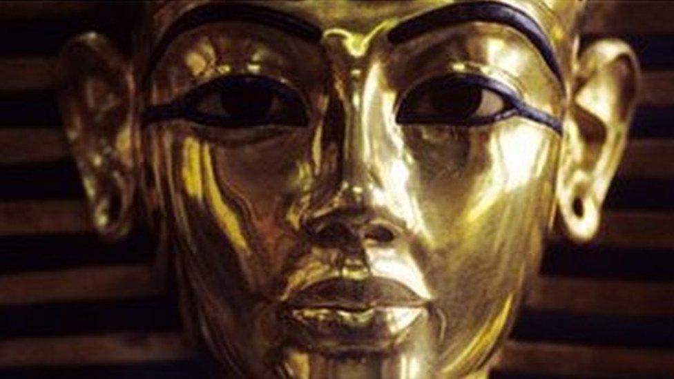 Tutankamonova posmrtna maska