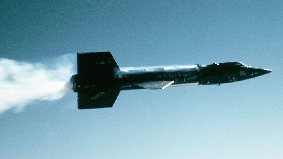 Avión X-15.