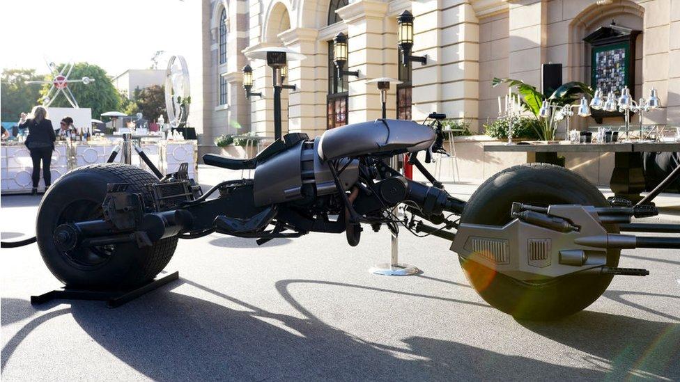 El vehículo que conducía Batman en la saga de películas del héroe del cómic.