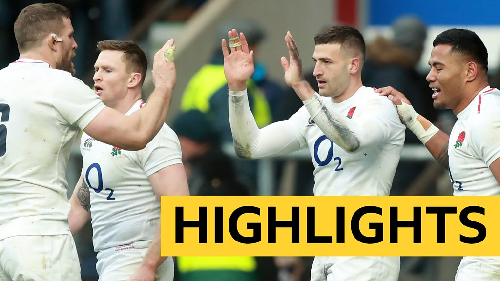 Six Nations 2019: England demolish France 44-8 at Twickenham - highlights