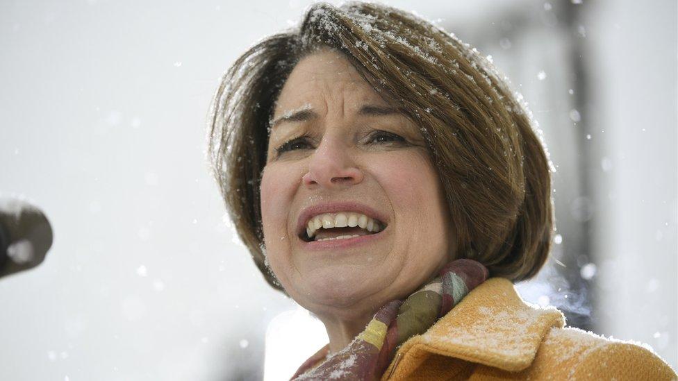 السيناتور الديمقراطية إيمي كلوبوشار تعلن ترشحها لانتخابات الرئاسة الأمريكية 2020