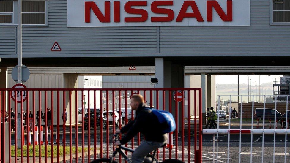 Nissan manufacturing plant in Sunderland