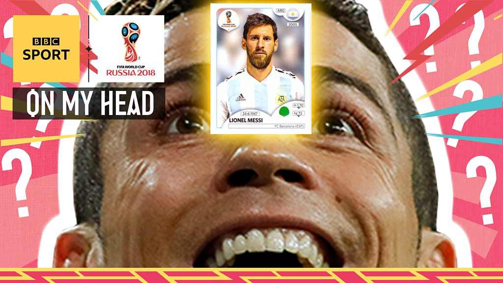 World Cup 2018: On My Head - BBC pundits play guess the footballer game