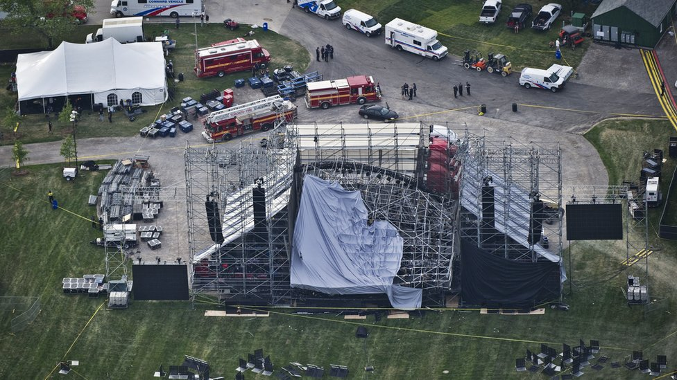 'Pain and grief': Coroner inquest into Radiohead stage collapse begins