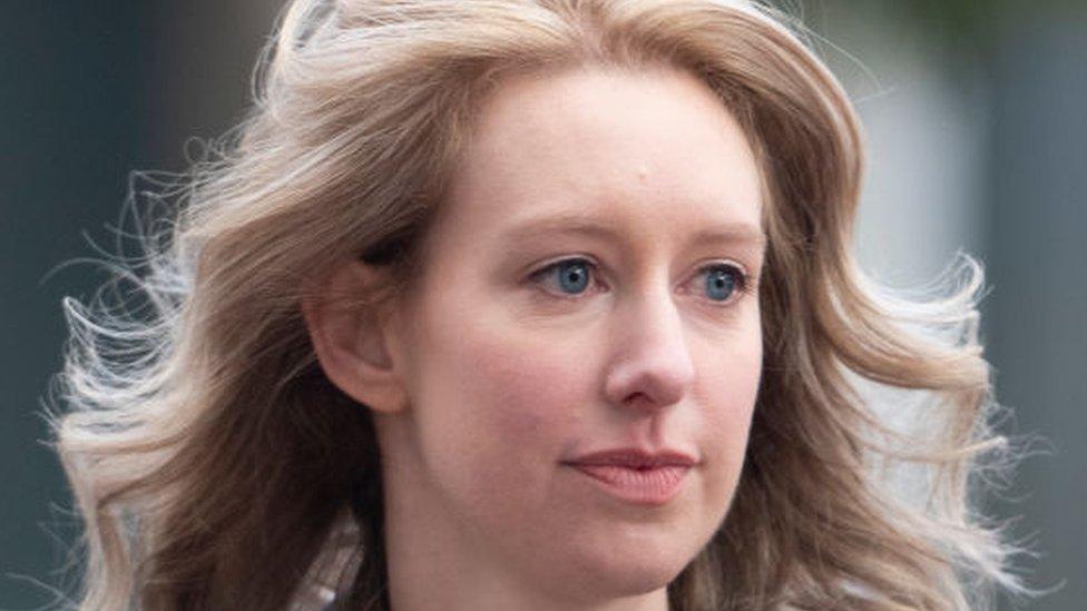 Elizabeth Holmes at court