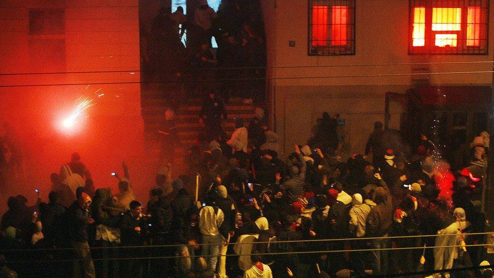 Beograd, 22. februar 2008.