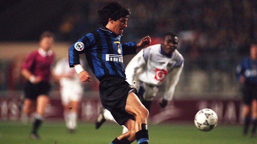 ... y con el Milan también.