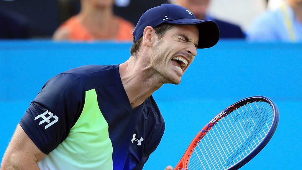 Queen's 2018: Andy Murray loses to Nick Kyrgios on return from injury