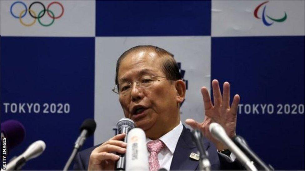 東京奧組委事務總長武藤敏郎