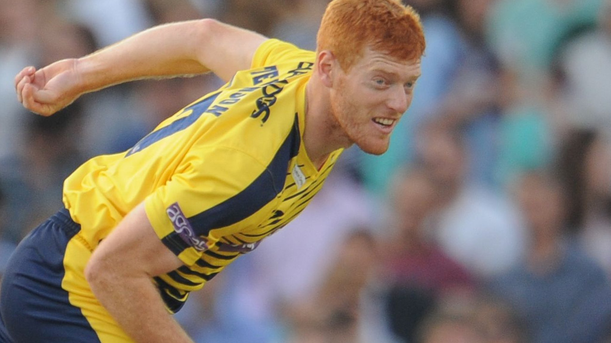 Hampshire: Ryan Stevenson grateful for county's support during injury exile