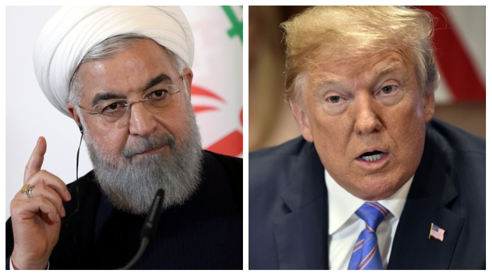 Trump and Iran's Rouhani trade angry threats