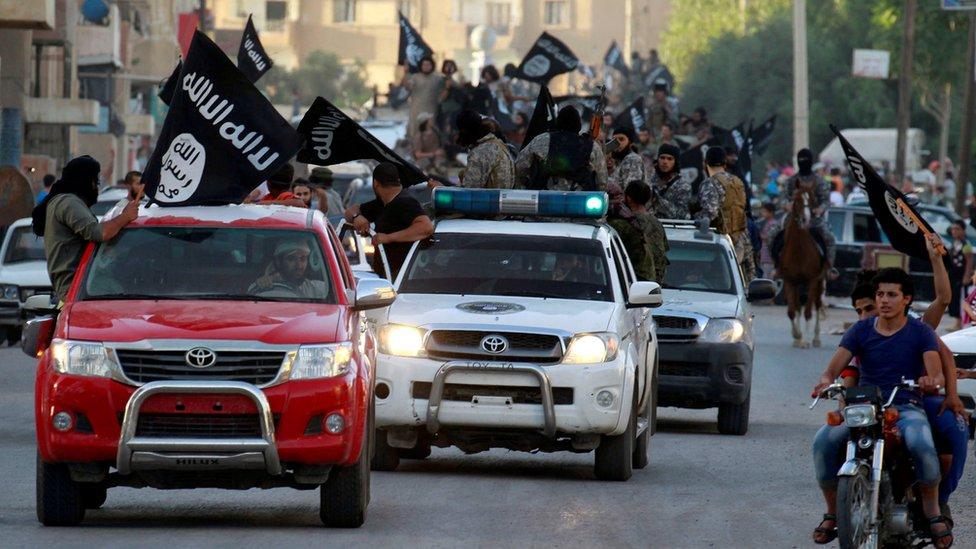 اجتاح مسلحو تنظيم الدولة الإسلامية مساحات شاسعة من الأراضي