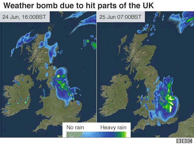 weather bomb