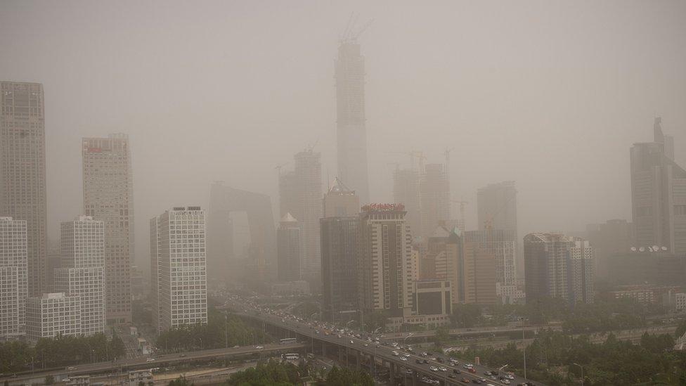 China dust