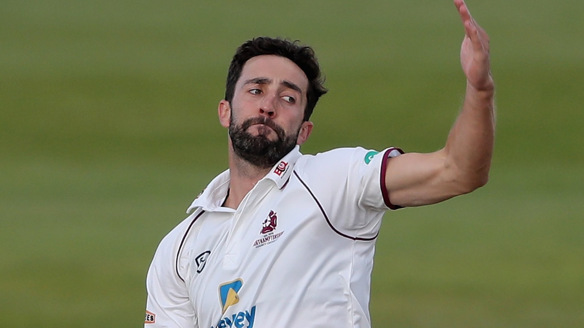 County Championship: Northants lead Sussex as 20 wickets fall on day one