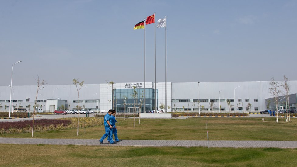VW plant in Urumqi