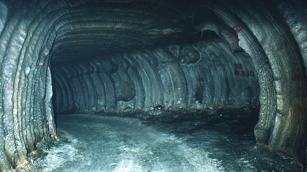 A salt cavern in Louisiana where the US stores millions of barrels of oil