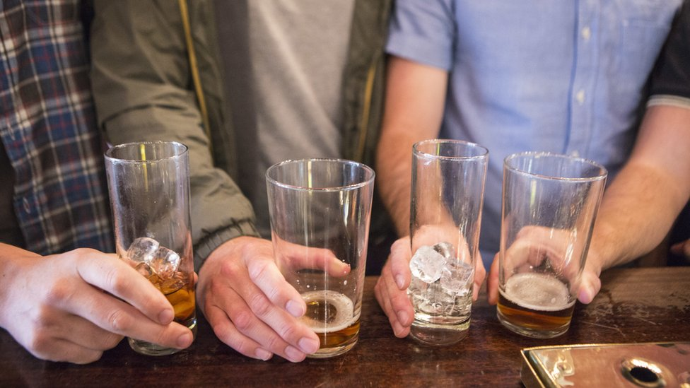 'Why I drink 100 units of alcohol a week'