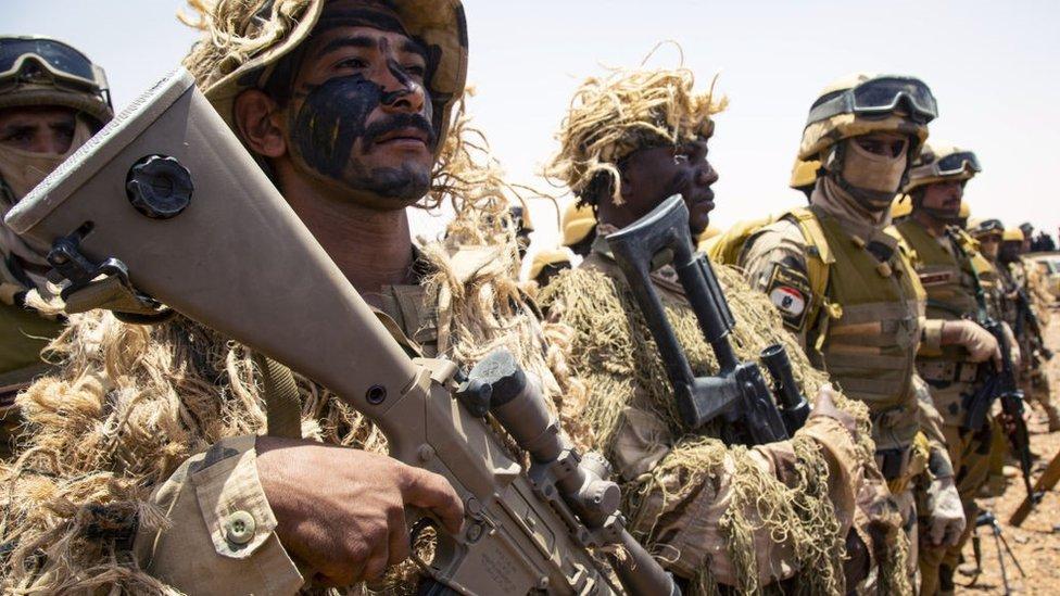 القوات المسلحة المصرية والسودانية تكمل مناورة عسكرية مشتركة في ولاية كاردافان الجنوبية، السودان 31 مايو 2021