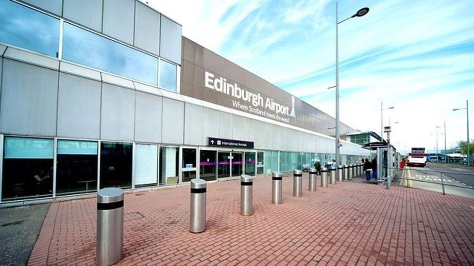 Edinburgh Airport has busy September but 'below European average'