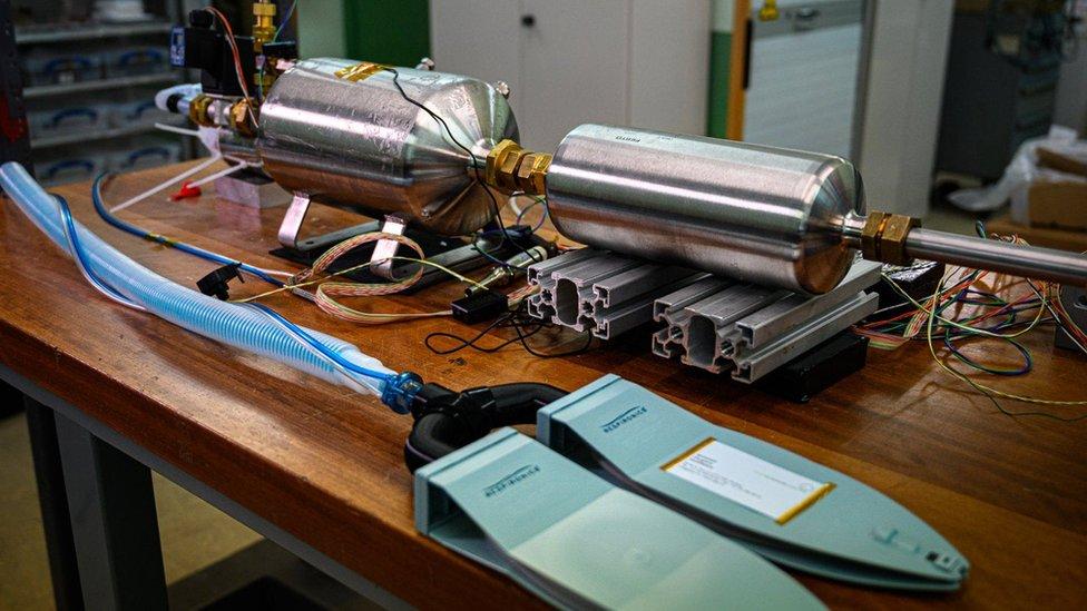 Prototipo de respirador artificial