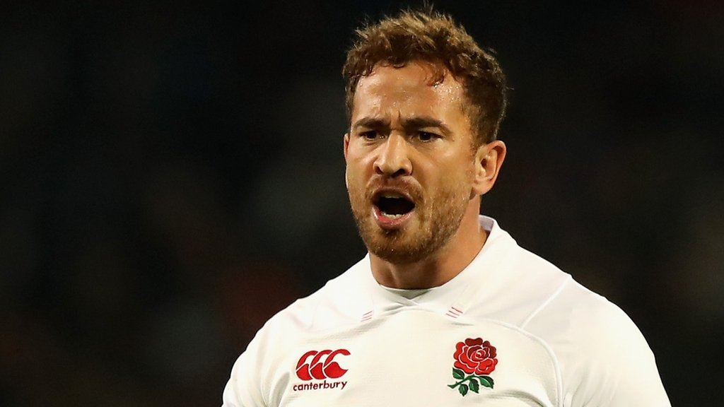 South Africa v England: Danny Cipriani makes first start for England since 2008