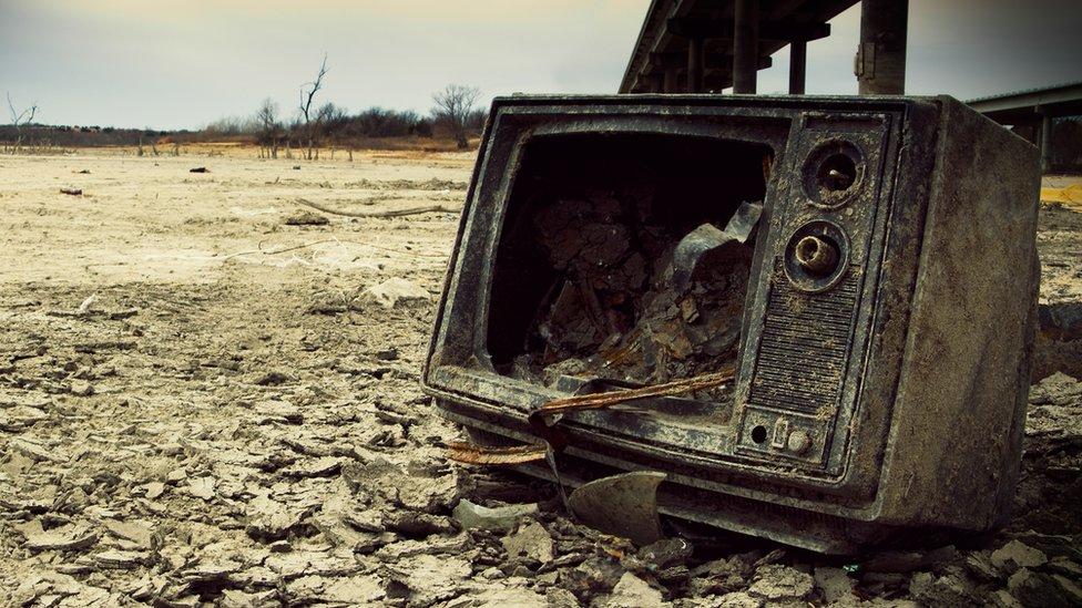 Televisor roto