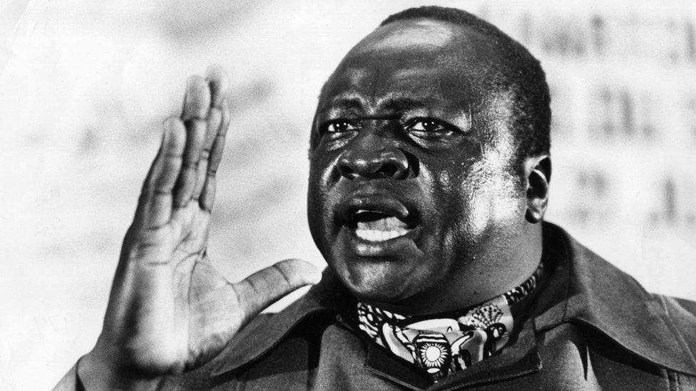 Late Ugandan leader Idi Amin