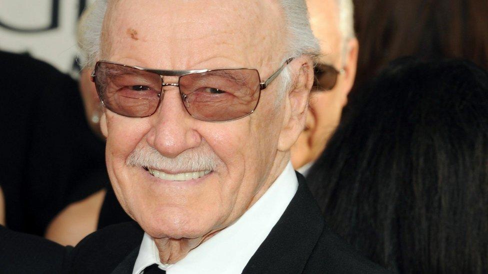 Stan Lee: Marvel Comics co-creator dies aged 95