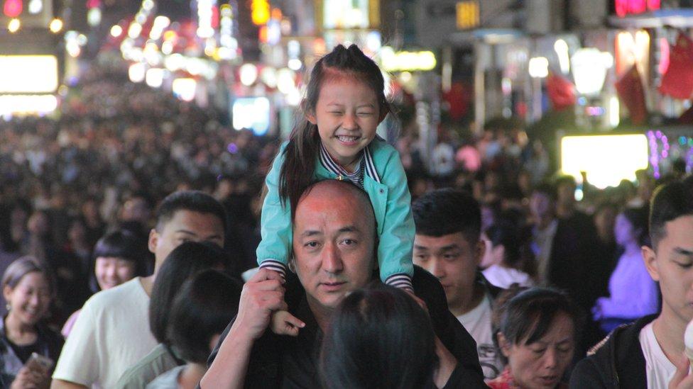 otac i ćerka u Pekingu