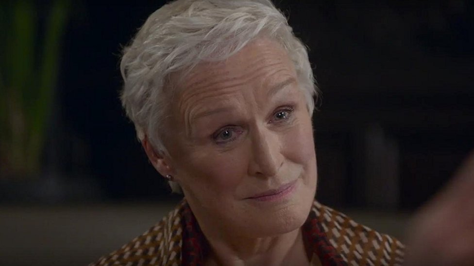 "Glenn Close en ""La buena esposa"""