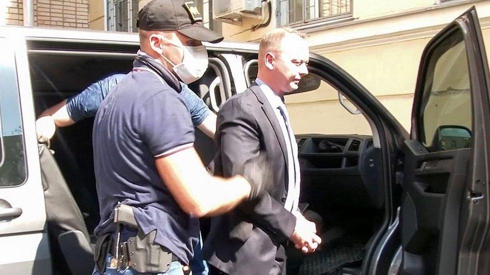 Arresto del periodista