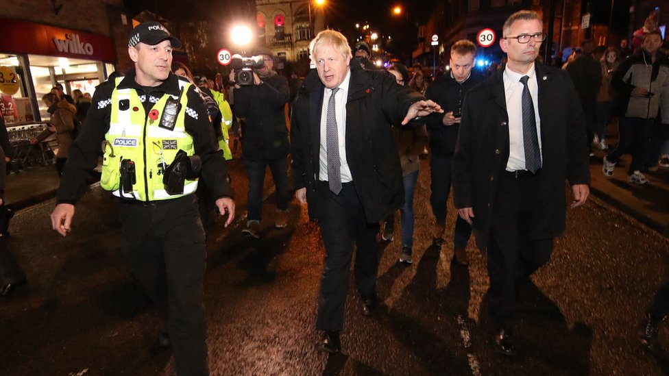 Boris Johnson in Matlock