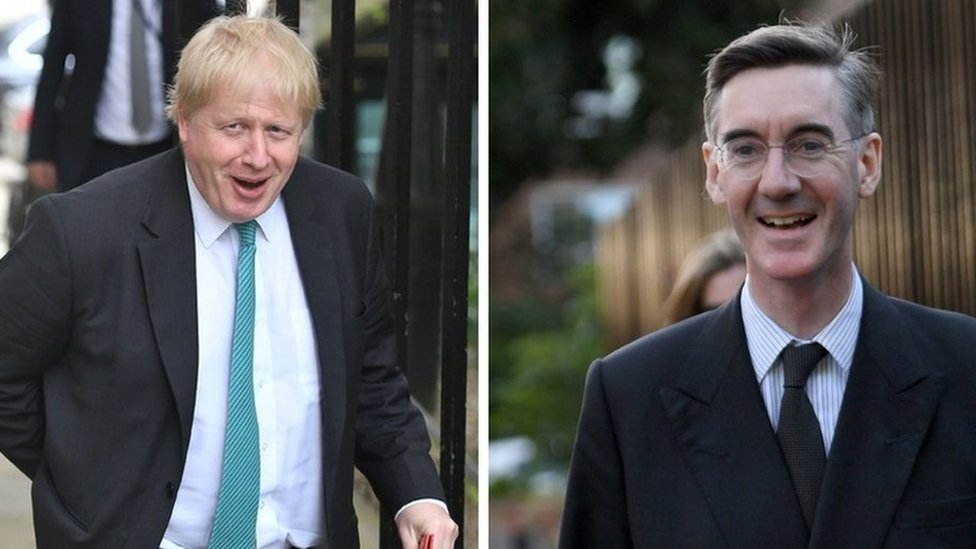 Jacob Rees-Mogg: Boris Johnson burka probe is 'show trial'