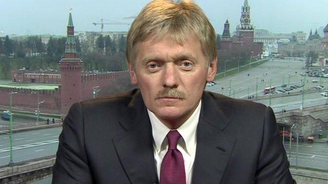 Dmitry Peskov, Kremlin spokesman