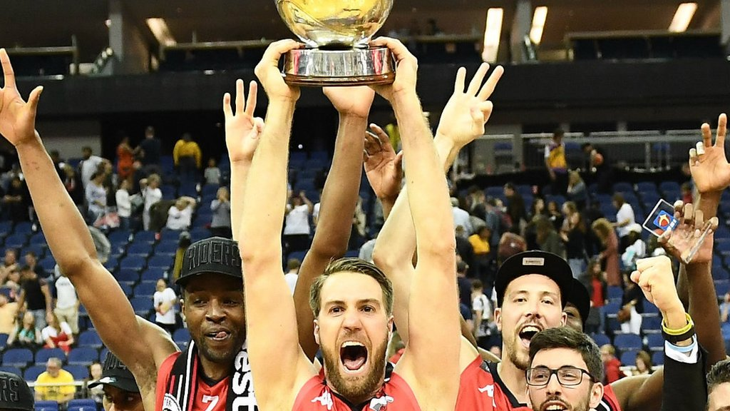 BBL play-off final: Leicester Riders beat London Lions to claim treble