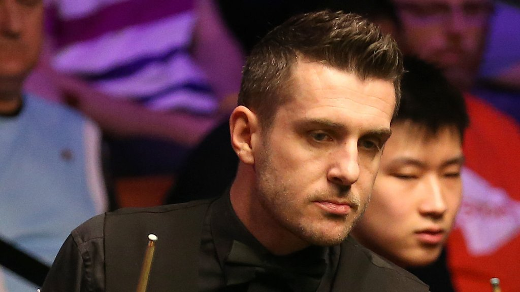World Championship 2019: Mark Selby through after scare at the Crucible