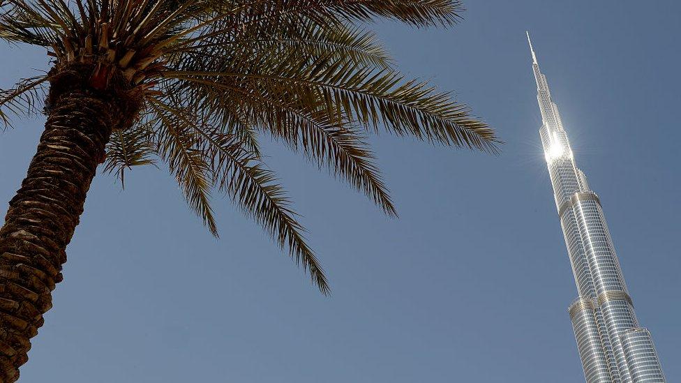 沙子,環境,地球,氣候,哈利法塔