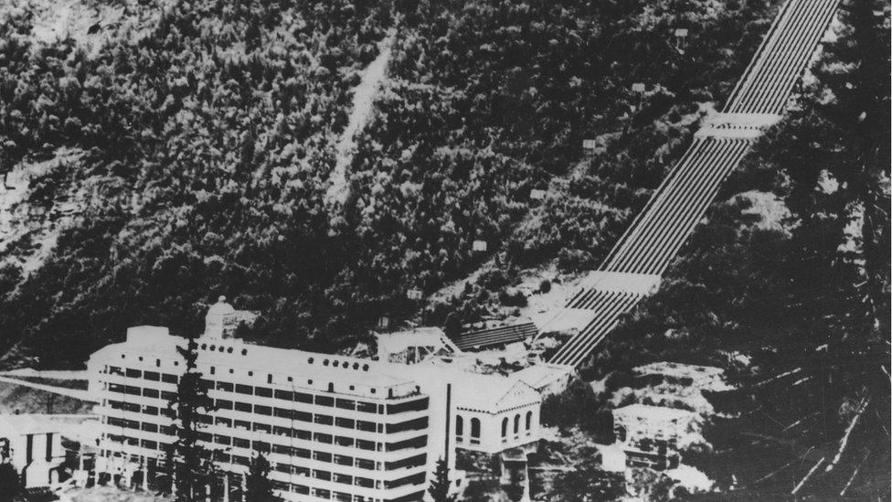 Telemark'taki hidroelektrik santrali