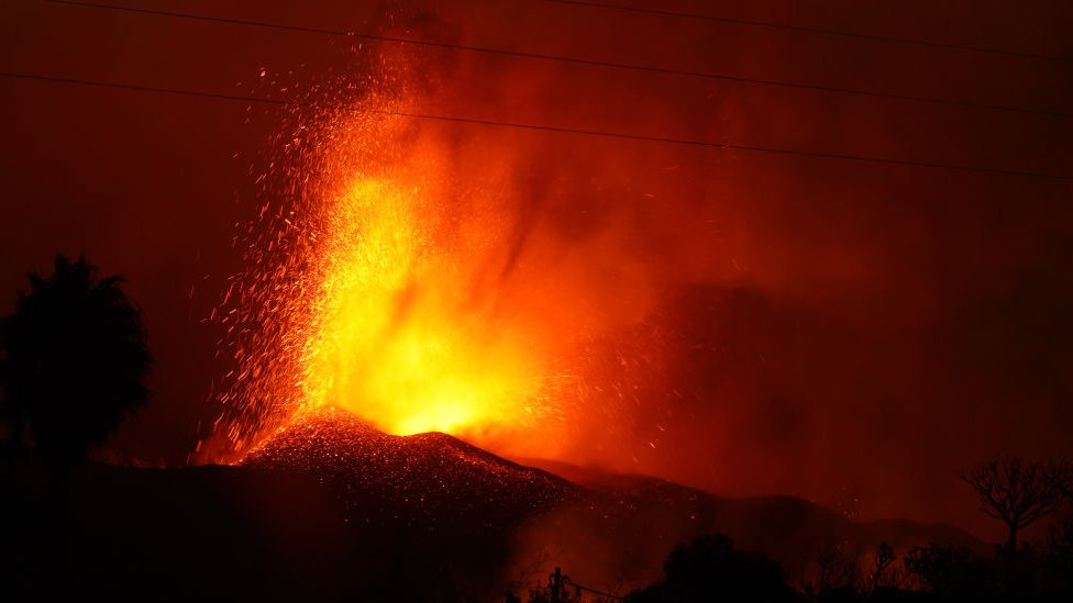 Cumber Vega volcano
