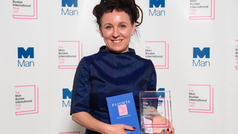 Man Booker International Prize: Olga Tokarczuk is first Polish winner