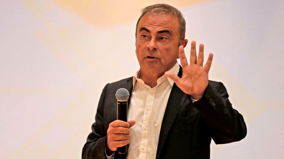 Carlos Ghosn di Lebanon.