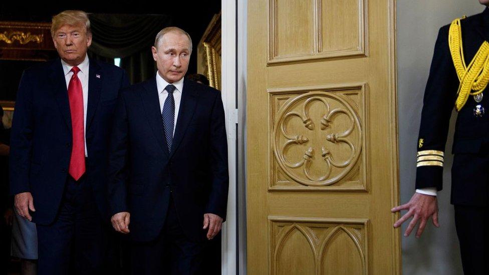 Putin y Trump.