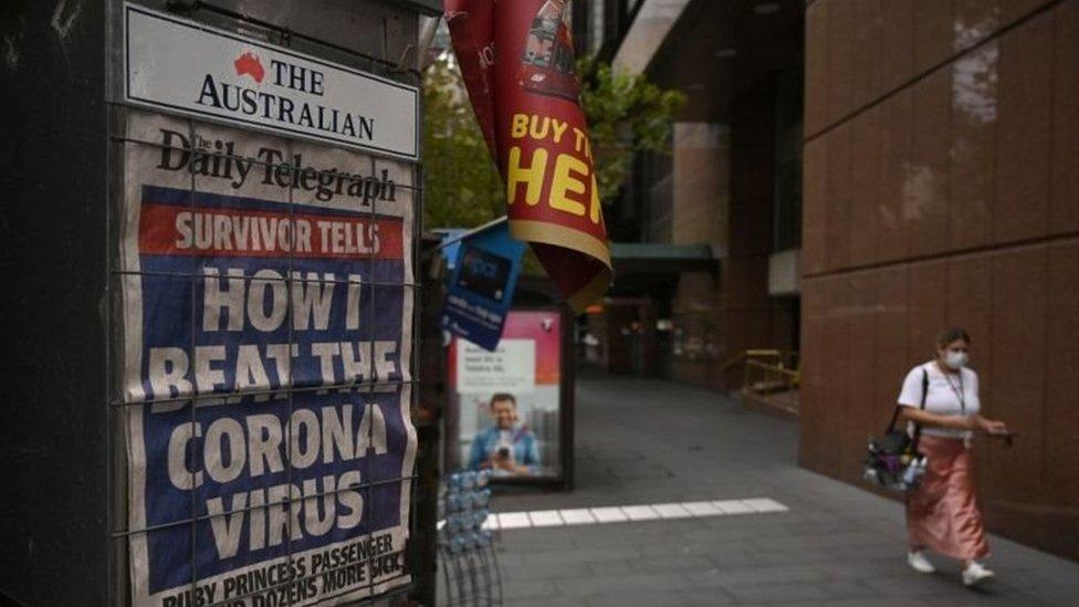 مردوخ يسيطر على معظم الصحف الأسترالية