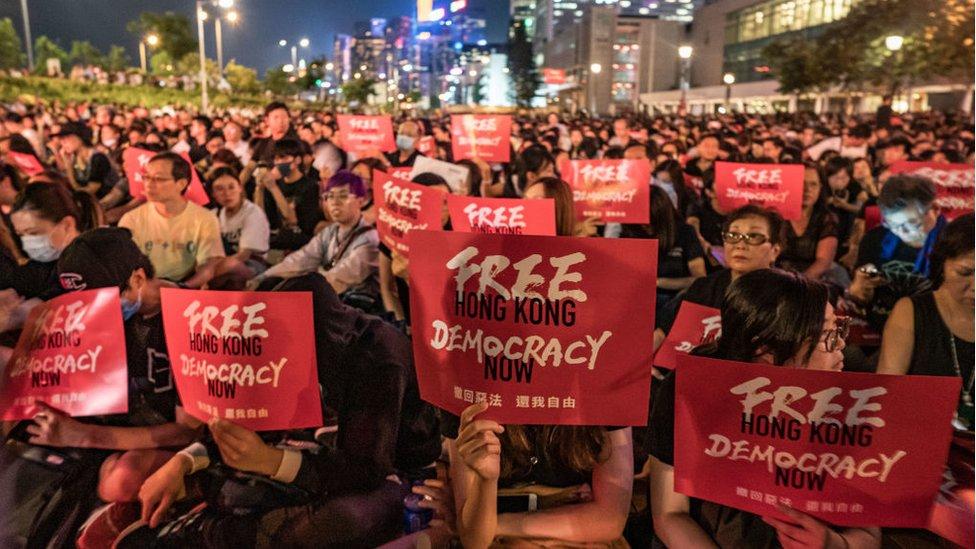 تظاهرات في هونغ كونغ