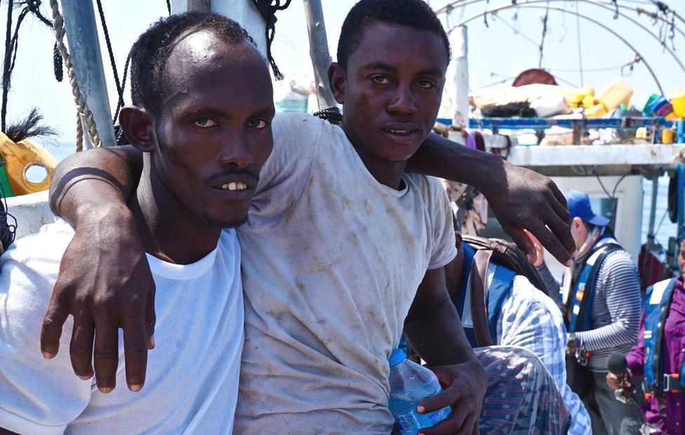 صيادان صوماليان