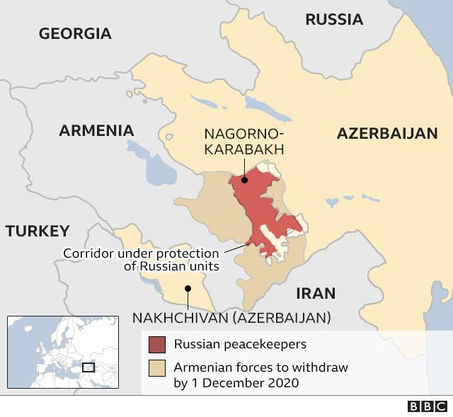 El mapa muestra dónde se despliegan las tropas rusas