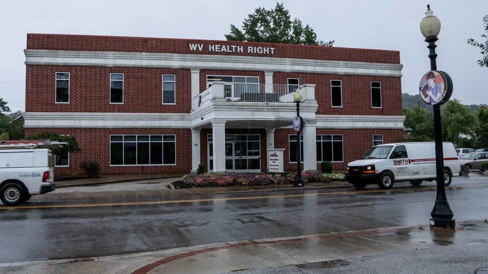 WV Health Right brick building