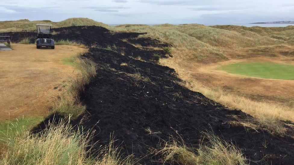 Castlerock Golf Club fire will cost 'thousands' in repairs